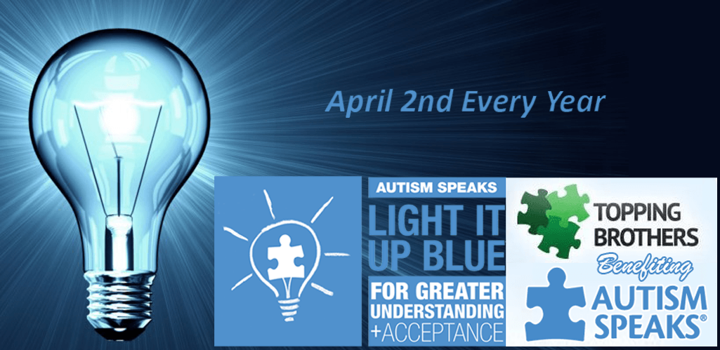 Every Year On April 2nd The World U201clights Up Blueu201d To Increase Awareness  About Autism.